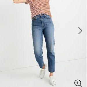 Madewell Classic Straight Jean